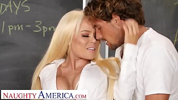 My first sex teacher ms steele - Naughty america- nikki delano gets sperm donated by student