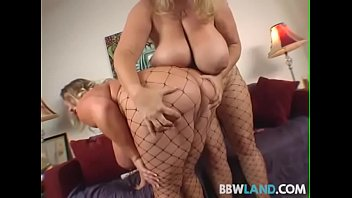 Fat tit lesbian tubes 2 busty blonde bbws licks tits and pussy