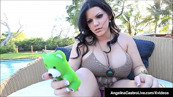 Thick BBW Cuban Angelina Castro Mouth Fucks PoolBoy! Image