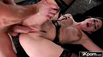 5KPorn - Stunning Alex Coal Shows Off Her Ass in Stockings