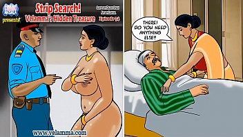 Comic strip boys - Velamma episode 74 - strip search