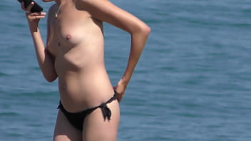 tities at the beach video
