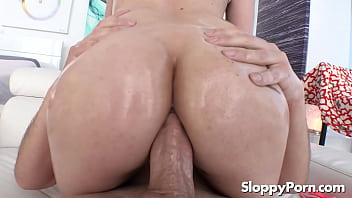 Oiled anal with Alex More