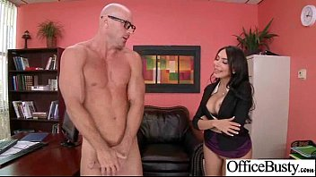 Hard Sex On Cam In Office With Big Juggs Gorgeous Girl (lela star) clip-22
