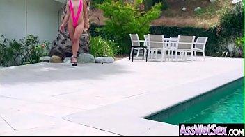 Bug Butt Girl (Kristina Rose) Get Oiled And Hard Deep Anal Banged vid-20