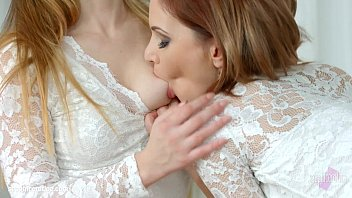 Shy girlfriend by Sapphic Erotica - Candy Sweet and Olivia Grace lesbians