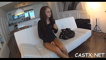 Legal age teenager in reality porn shooting