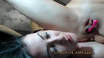 pink tube - camgirl lets her roommate squirt on her face thumbnail