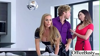 (Nicole Aniston) Hot Office Girl With Big Tits Love Hardcore Sex movie-20