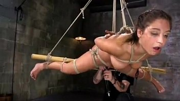 Latex oil based basement Submissive-neighbor-made-a-mistake-and-walk-in-her-pervert-neighbor-basement