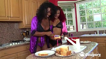 Daisy Ducati & Layton Benton Get Naughty In The Kitchen