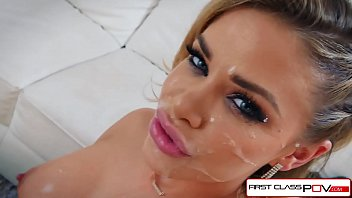 Jessa Rhodes loves two fat cocks and she gets filled in all her holes