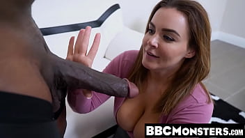 BBC loving MILF Natasha Nice gets her sweet pussy stretched
