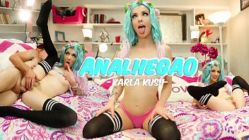 SheDoesAnal - Cosplay Cam Girl Karla Kush Does Anal On Cam