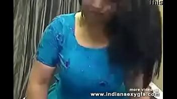 Busty indian collegegirl on webcam masturbating pressing her Big Boobs - indiansexygfs.com