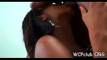 Black pornstar free vid - Black babe feels fat rod of ebony thug in mouth and muff