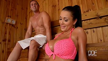 Busty babes tits in tops - Slovak babe pattty michova fucks in sauna