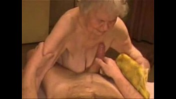 Oldest nude - Facial on a very old granny. amateur older