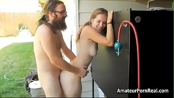 Outside Hippie Man Perfect Hairy Blonde Real Sex Video