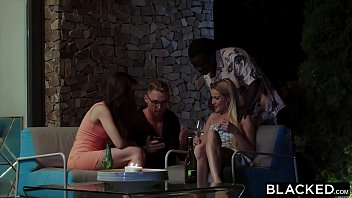 Blacked Hot Blonde Gets The Dp Of A Lifetime By Two Bbcs