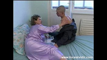 bald young guy fucks his granny