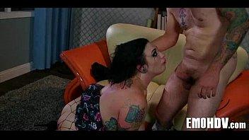 Emo slut with tattoos 0717
