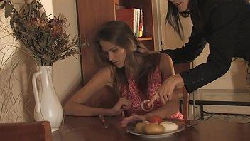 Skinny busty BDSM pornstar Silvie Delux nude, oiled, punished, bondage, whipped
