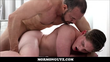 Young Jock Mormon Boy Elder Edwards Seduced And Fucked By Muscle Bear Mormon President Ballard anal gay twinks