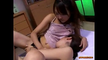 3 Asian Girls Licking And Fingering Pussies Sucking Nipples On The Mattress In T