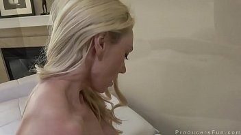 Fucking and Facial For Blonde Bombshell