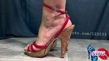 Milf Modeling High Heels and Sharing Sexy Fantasy Talk