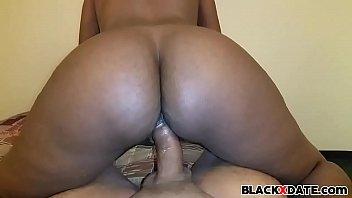 Big bouncing black booty riding Thumb
