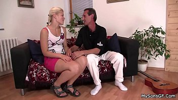 Old father-in-law fucks her