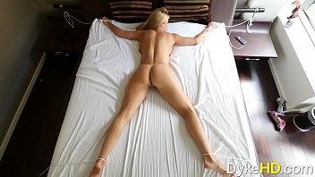 Nice lesbian bondage Big tits blonde alexis and spinner elsa finger pussy