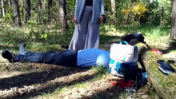 Stomach Sitting in The Woods (Stomach Demolition)