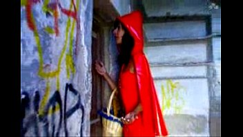 Red riding hood adult fancy dress - Red riding hood gets wolf dicked