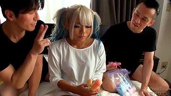 Maruyama Reona -Dark skin idol girl fucks fans