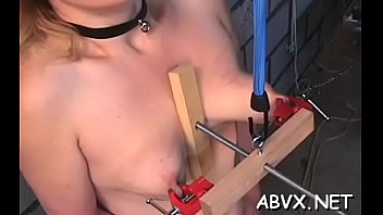 Pungent lady is playing with her sex tool