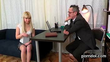 Sensual college girl gets tempted and reamed by her older teacher