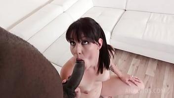 Amanda Hill casting with big black cock KS038