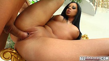 All Internal Larissa's pussy is left with deep loads inside