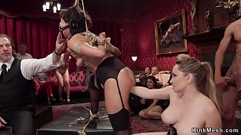 Mia sweer fisting Cute slave tormented at bdsm party