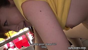 Asuka suzuki xxx - Japanese waitress mimi asuka gets finger fucked in the restaurant
