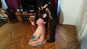 Beth Kinky - Double spit a. with my Master pt1 HD