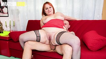 AMATEUR EURO - Sexy BBW Lady Kiara Rizzi Takes Huge Cock In The Ass Before The Dinner