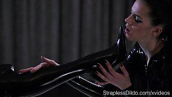 Image: Shiny Latex on Mia and Scarlett
