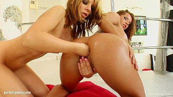 Fist Flush presents Debbie White and Rony Anulli in a lesbian fisting scene
