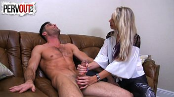 Teasing Handjob For Rent LANCE HART VICKY VIXXX EDGING