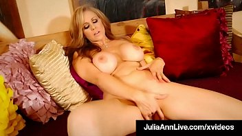Dita boobs Big boobed mommy julia ann in red heels finger banging
