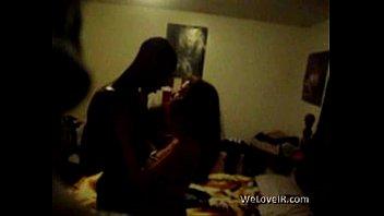 Black vs white teen hidden sextape